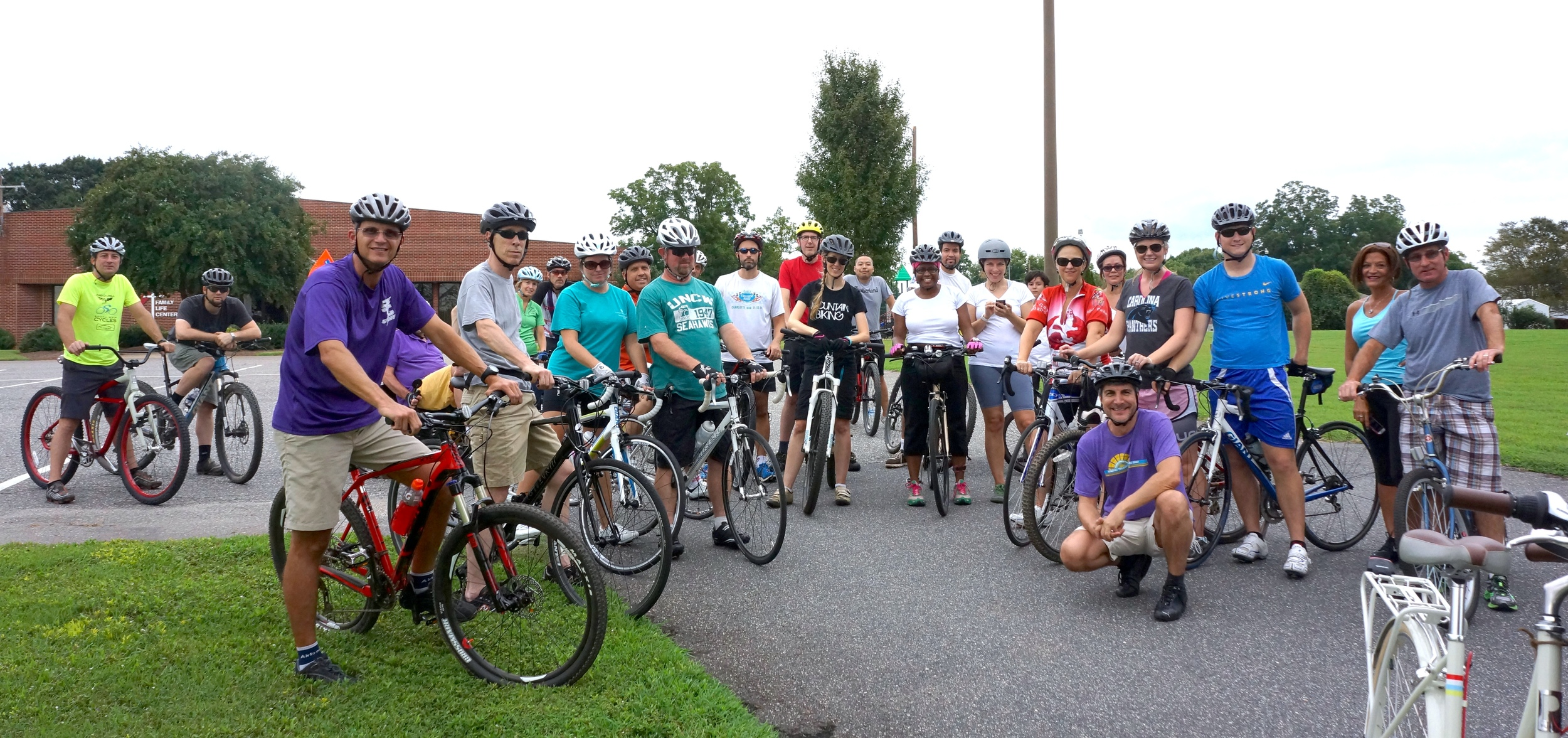 Two Rivers Ride project kickoff bike tour