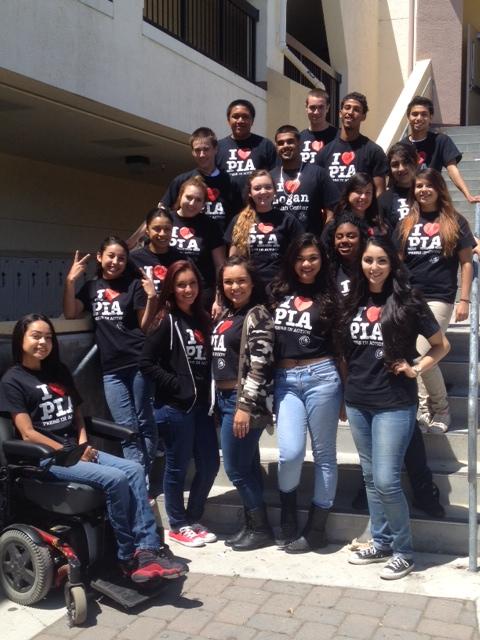 Peers In Action class of 2013