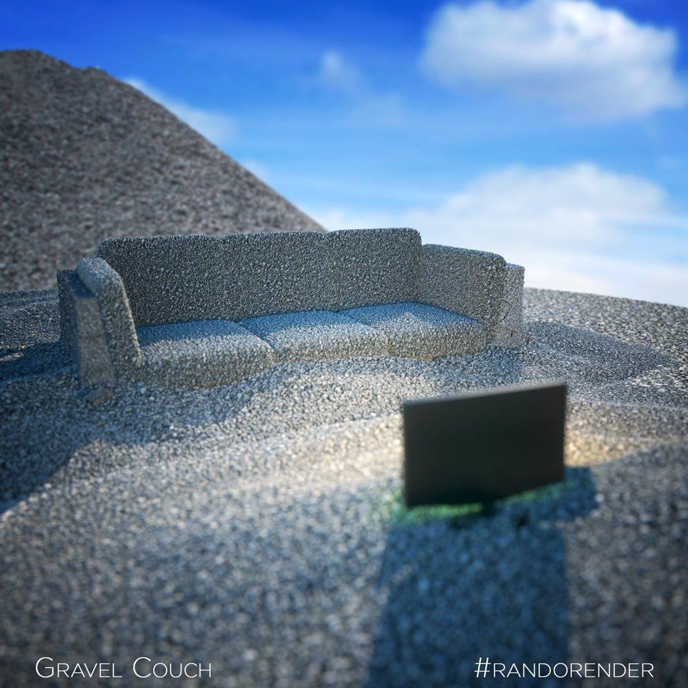 Gravel Chair