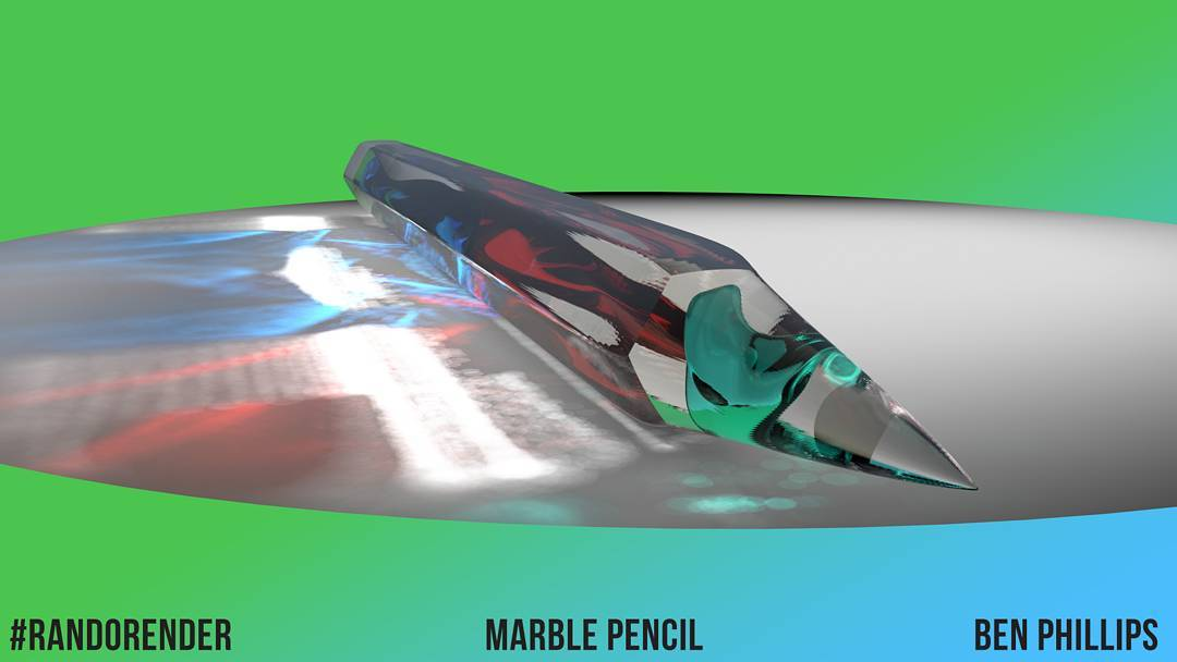 Marble Pencil