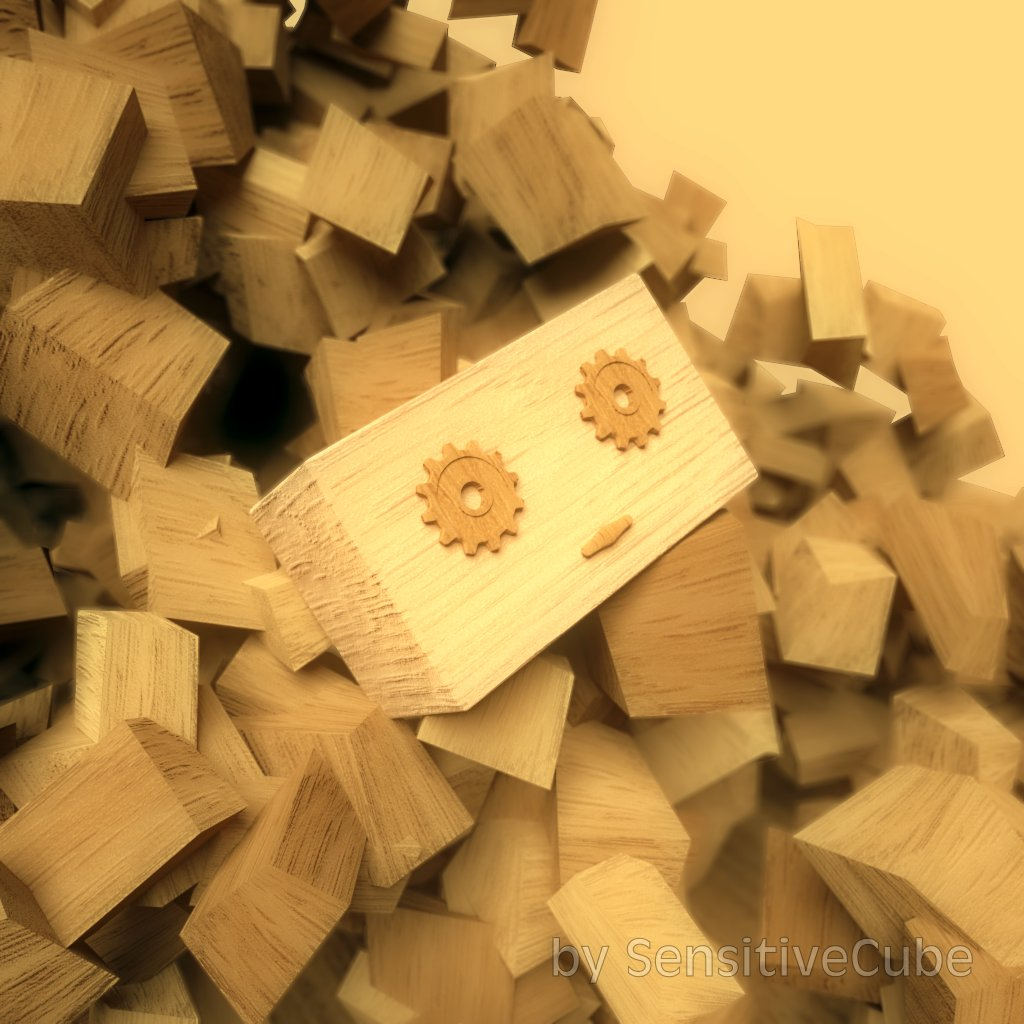 Wood Chip Robot