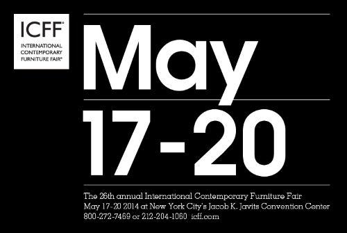 ICFF   We are proud to announce that Lim+Lu will be showing at The 26th annual International Contemporary Furniture Fair! Come check out our work at New York City's Jacob K. Javits Convention Center, booth 1356, from May 17th to May 20th. For tickets and more information:  www.icff.com   Don't forget to get your Lim+Lu tote bag at ICFF!