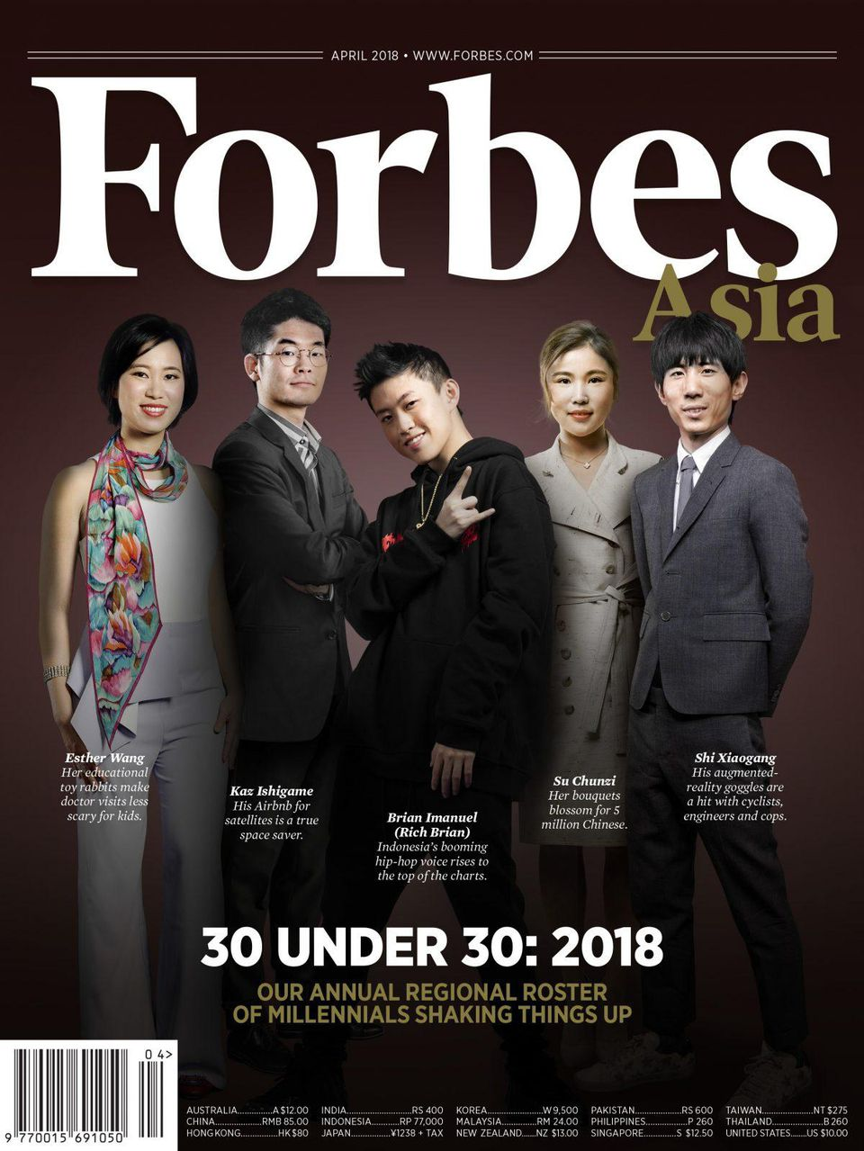 Forbes - 30 Under 30 Asia 2018
