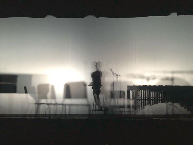 @bcarterwells behind the veil. @roomfulofteeth @brycedessner