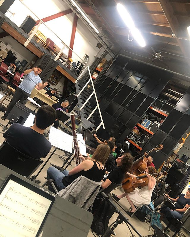 Rehearsing with our new friends @sfcontemporarymusicplayers @splinter_reeds on a #michaelgordon premiere, conducted by the tremendously talented @ericjdudley  The show is tonight at @fortmasoncenter 8:00! Also seen is a delicious beer from @mikkellerbeer (bonus points from our buddy @brycedessner ), a very vocal seagull, and 6 Teeth waiting on a very tardy Uber driver. Fun times in San Fran!