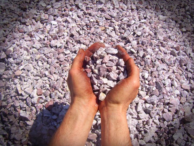 pink gravel Ashland Ohio