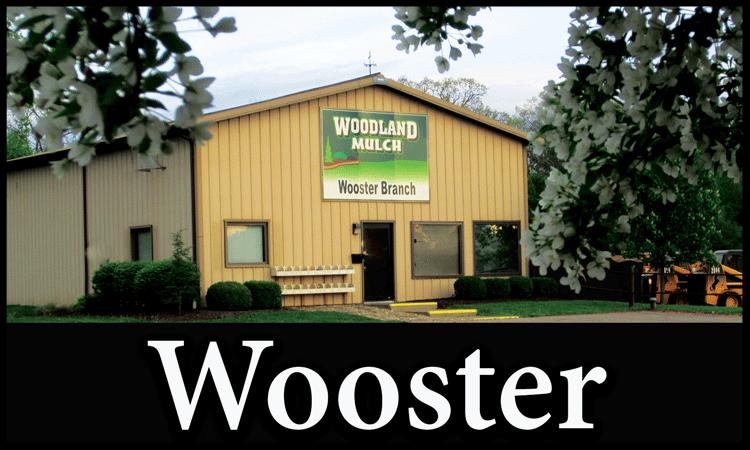 woodland mulch wooster location