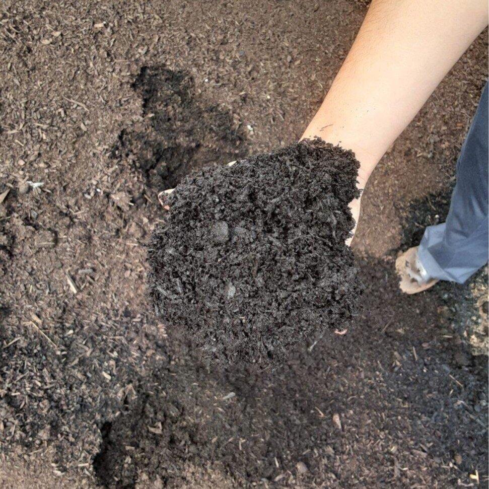 Soil Compost Woodland Mulch