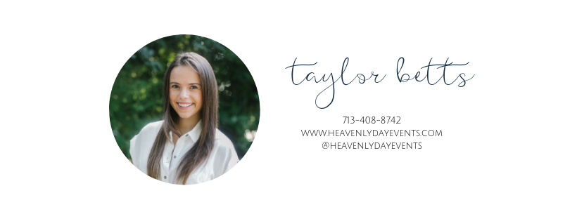taylor betts heavenly day events weddings austin