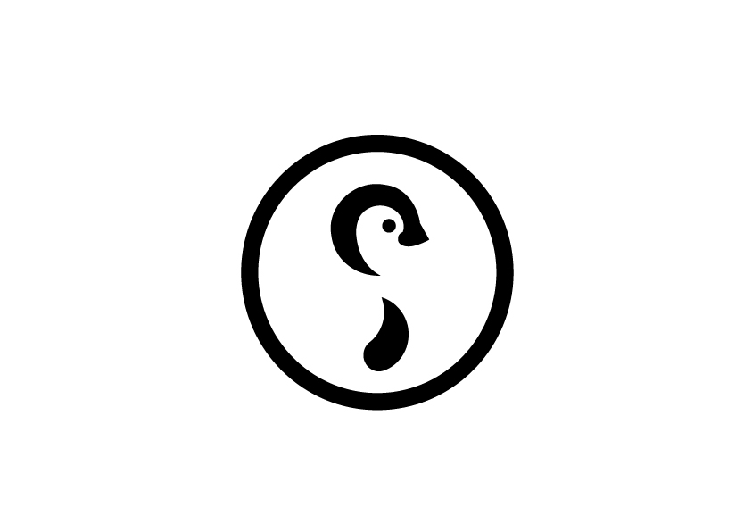 Logo design black and white for Irish clothing business
