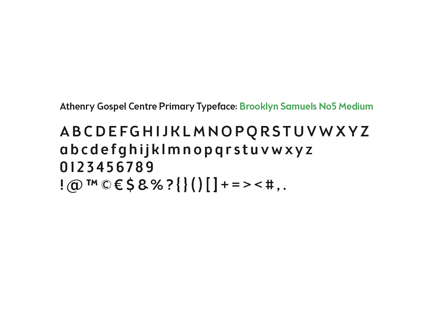 Font for logo design