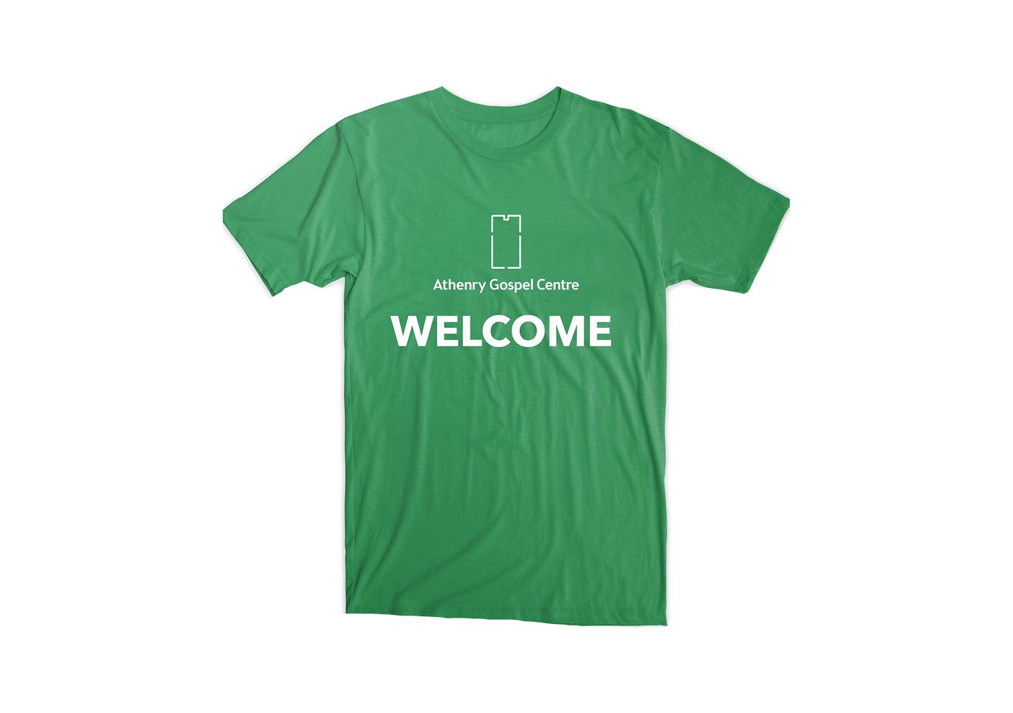 T-Shirt with logo design
