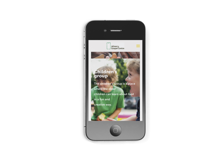 Squarespace mobile site