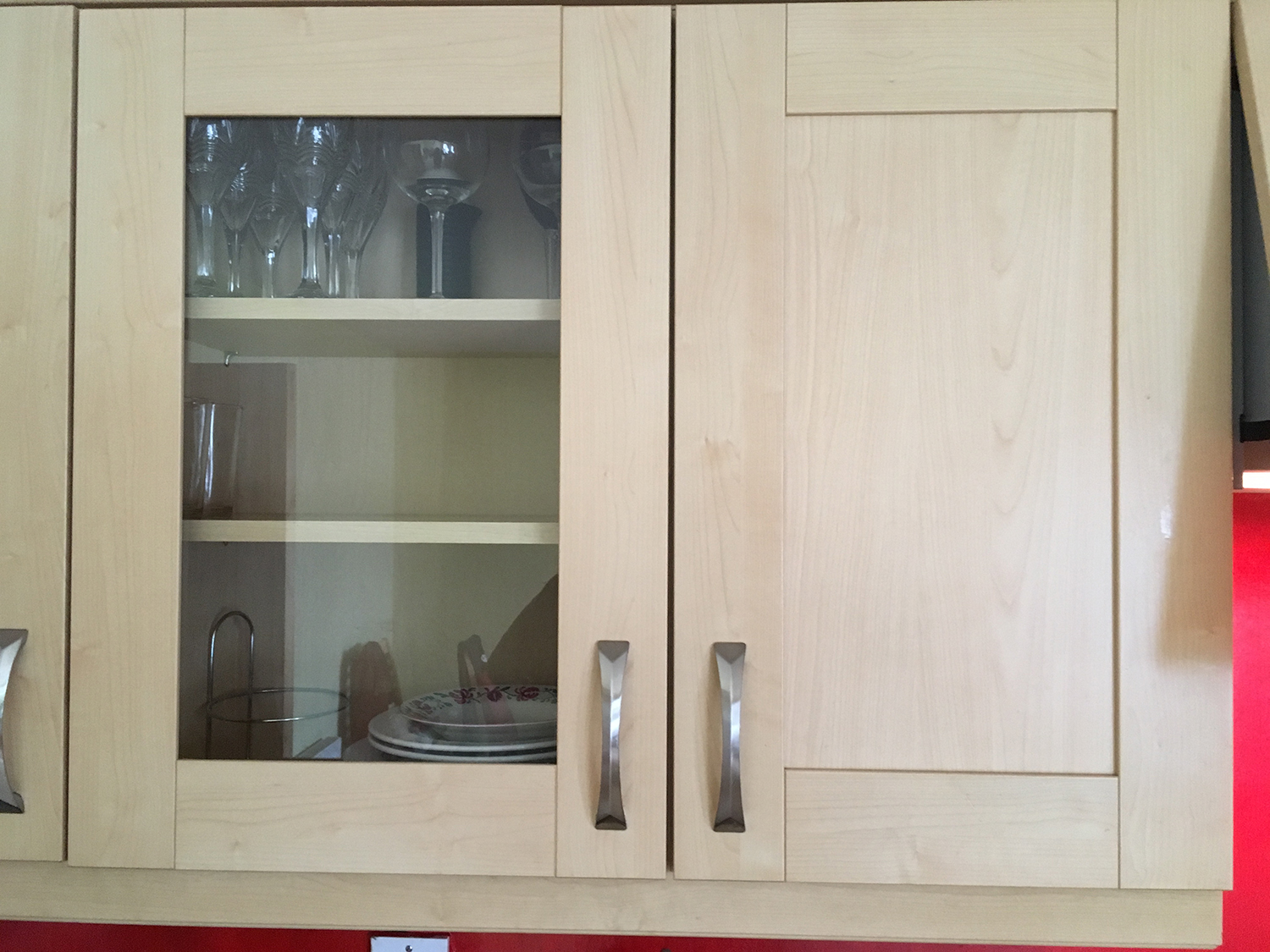 Kitchen unit design in Irish home