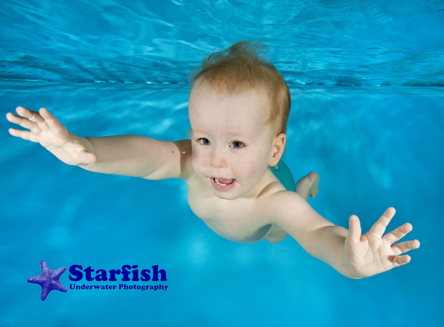 Marley swims his way to better health.Marley Krajewski, 1, has Prader-Willi Syndrome. He has been swimming since 5 months old, and this has vastly improved the symptoms of his condition. Photo by Lucy Ray/www.starfishunderwaterphotography.com