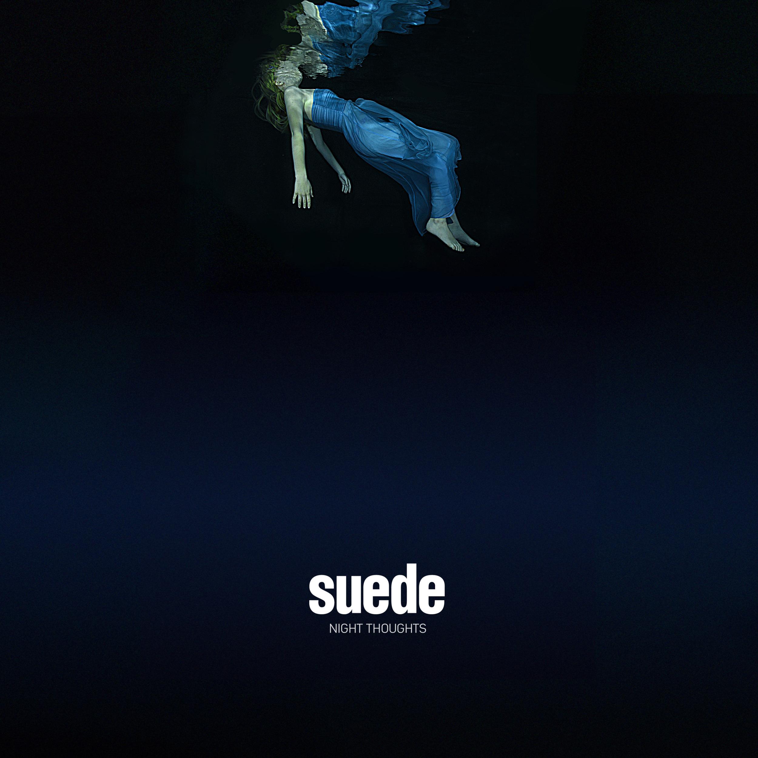 Suede's new album cover featuring underwater photography by Starfish Underwater Photography!
