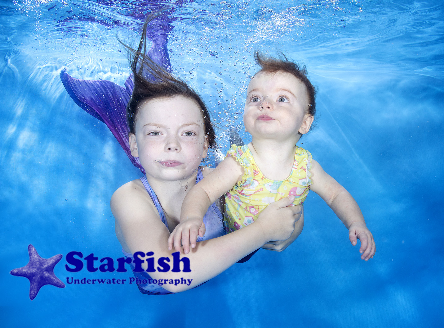 Michelle t GUST - Starfish were amazing when taking underwater shots of my two girls aged 7 years and 10 months. So patient and helpful with them both especiallyMy eldest who struggled without her goggles. The pictures are fantastic and everyone we have shown them to have been totally amazed at them. Would definitely recommend starfish to Anyone wanting special photos of children. Massive thanksMichelle Smith