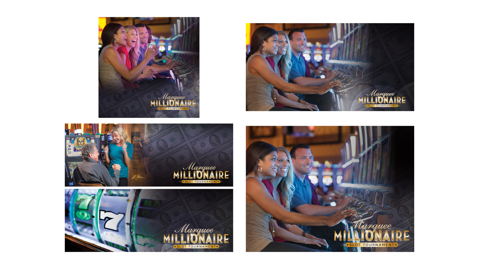 Marquee Millionaire Display Social Media Ads