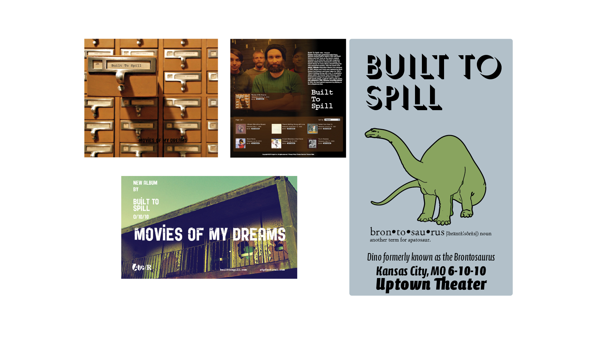 Built To Spill Album and Promotional Materials