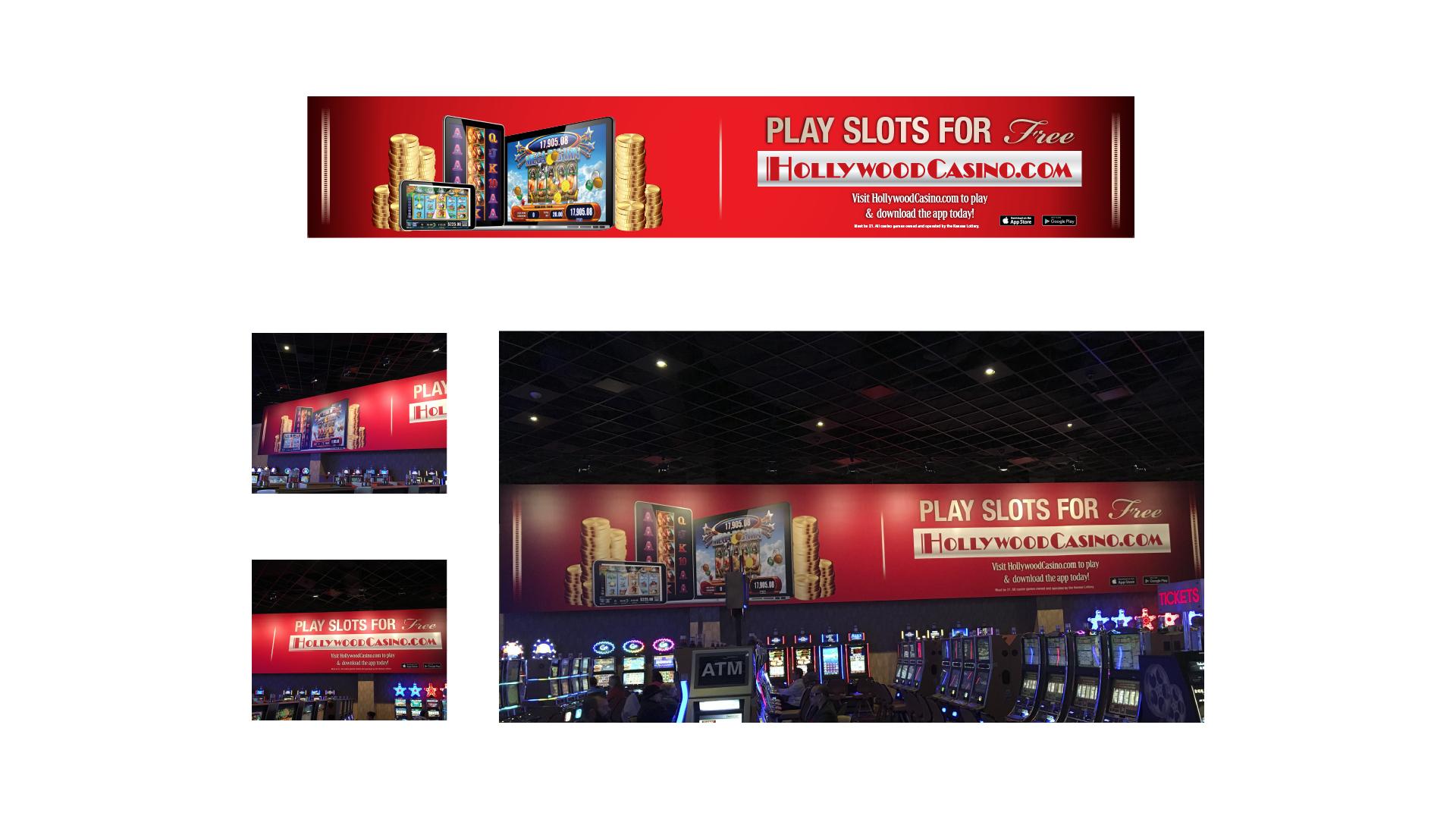 Hollywood Casino Online Billboard