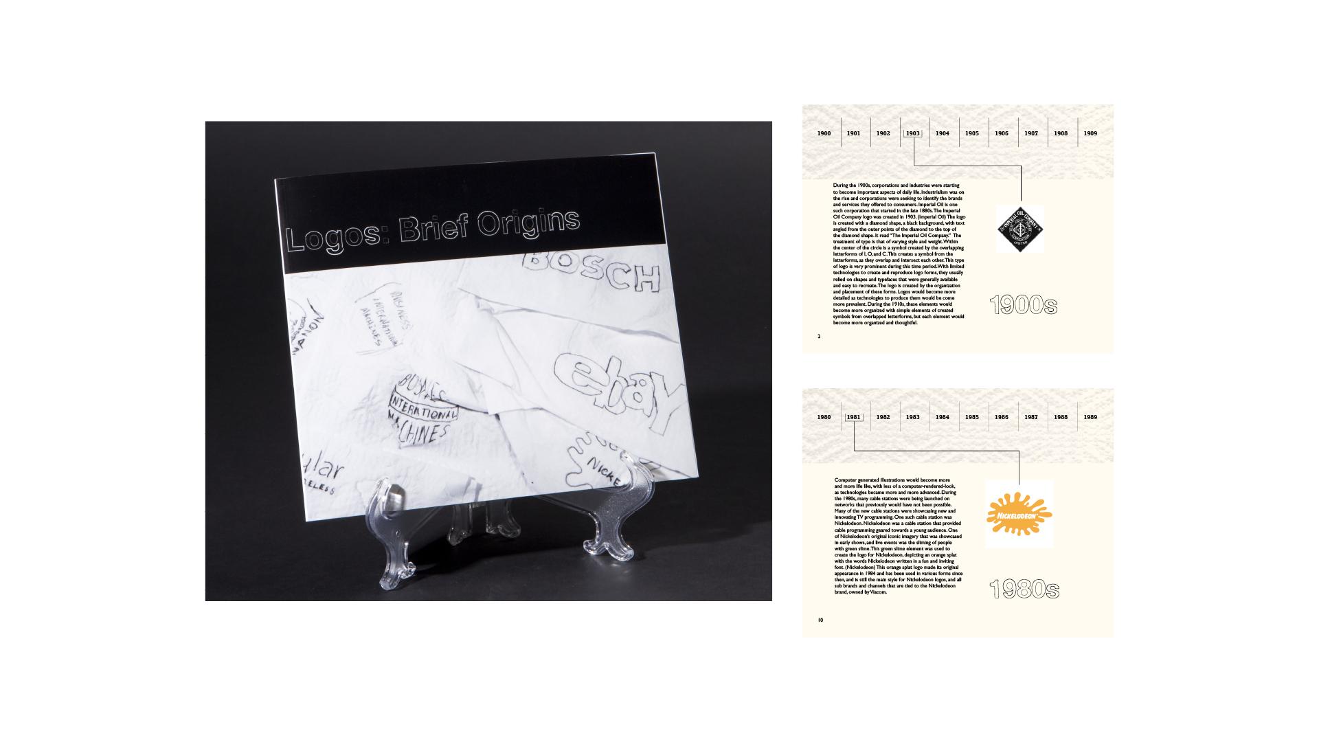 Logos: Brief Origins Book