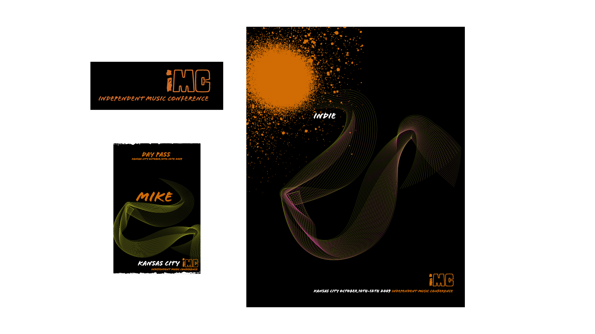 Independent Music Conference Brand Collateral