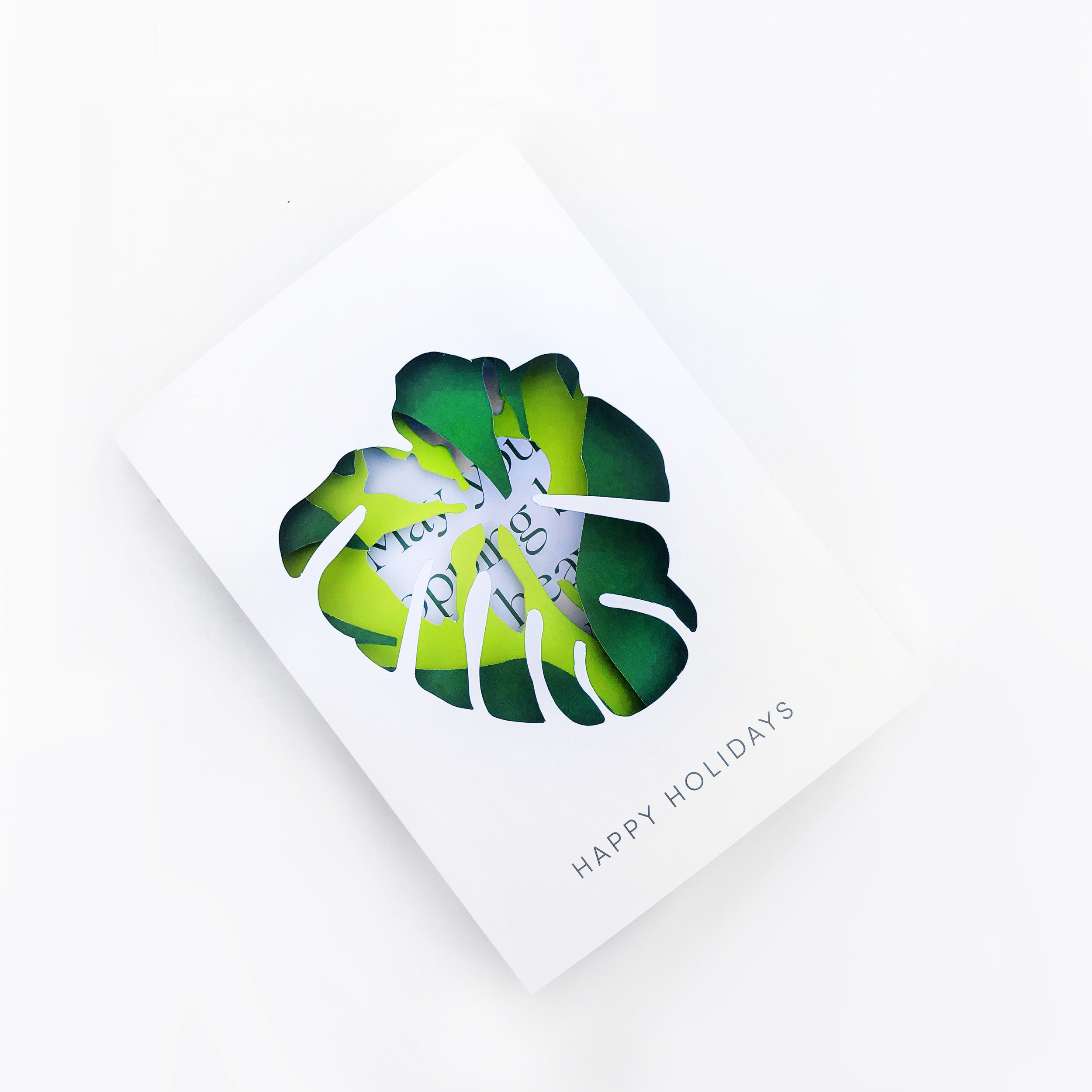 Holidays Card design and Production for Bal Harbour Shops