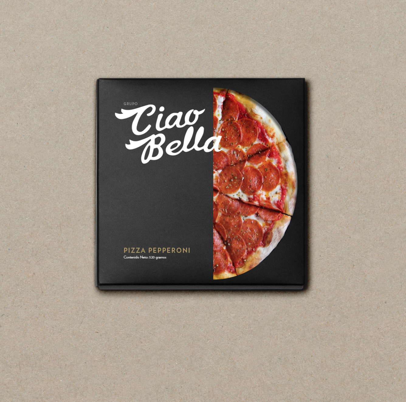 Package design for Ciao Bella Panama