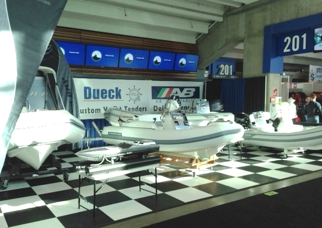 Dueck Marine at Vancouver Internation Boat Show