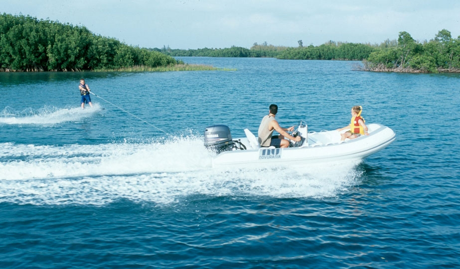 Soon you'll be having this much fun with your inflatable boat!