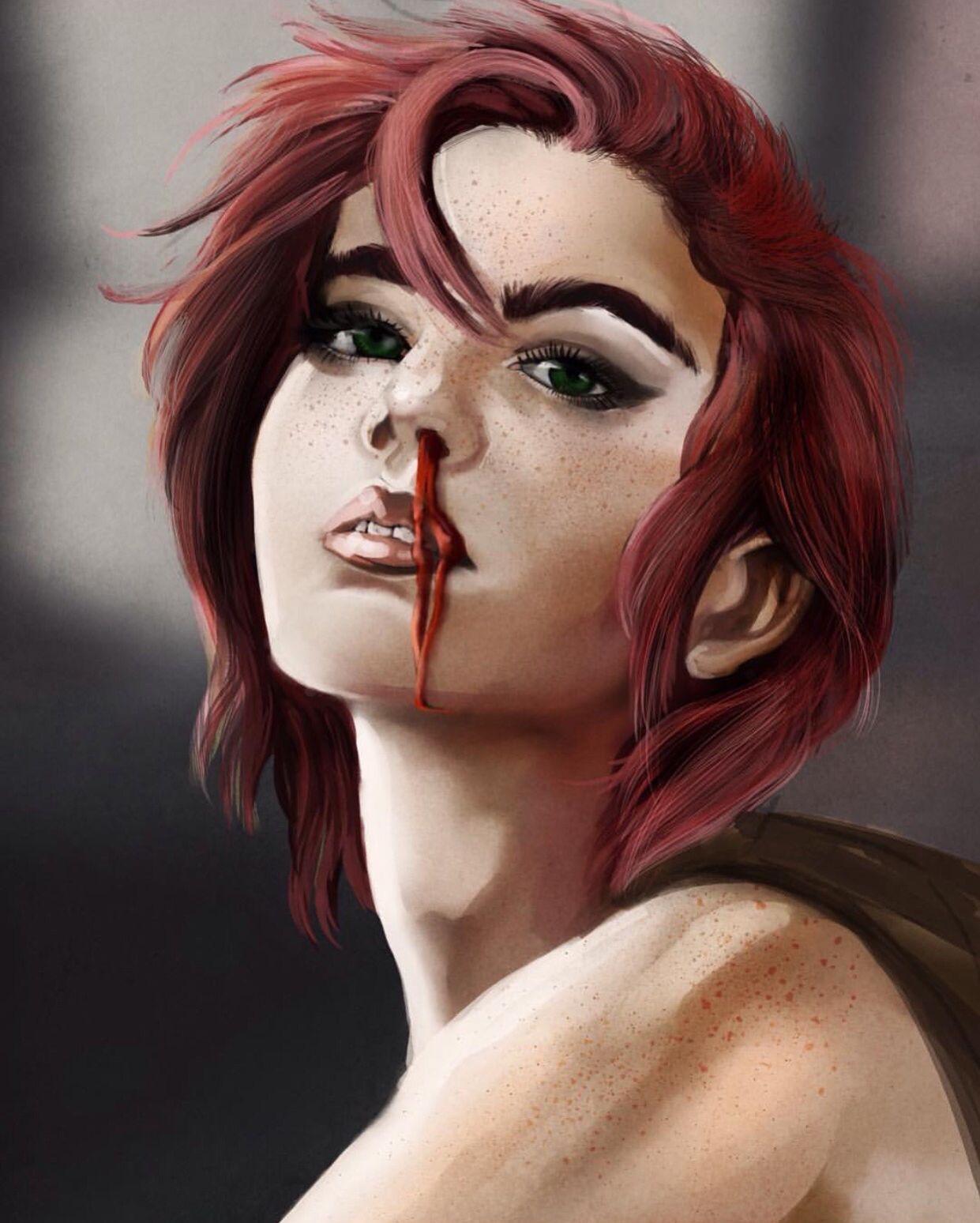 Artist: Amber // amberbrantleyart.tumblr.com