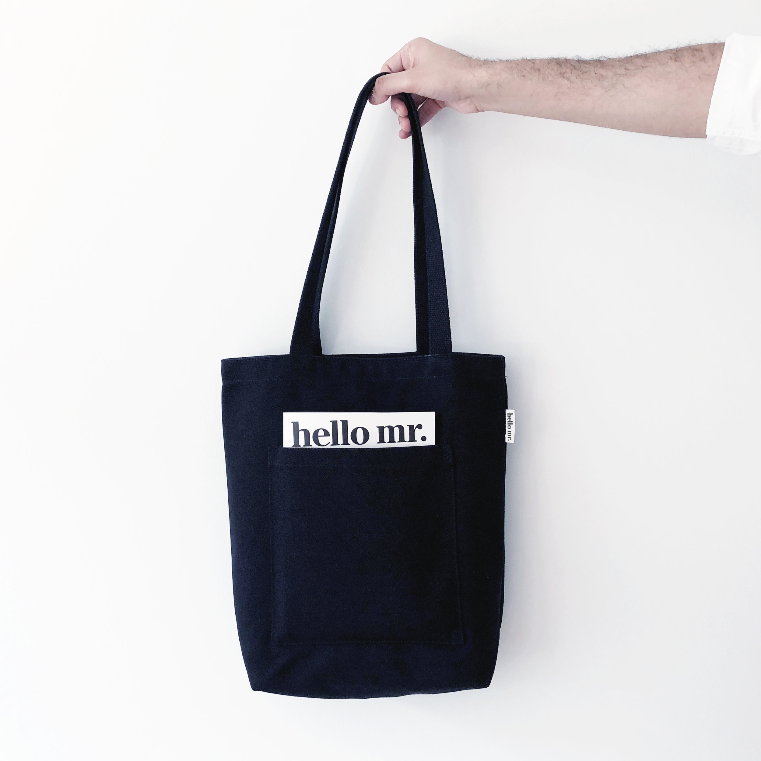 Tote Bag Hello Mr