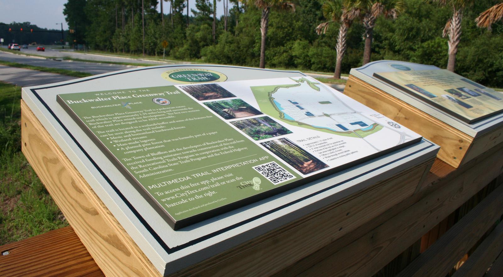 Greenway Trail Signage