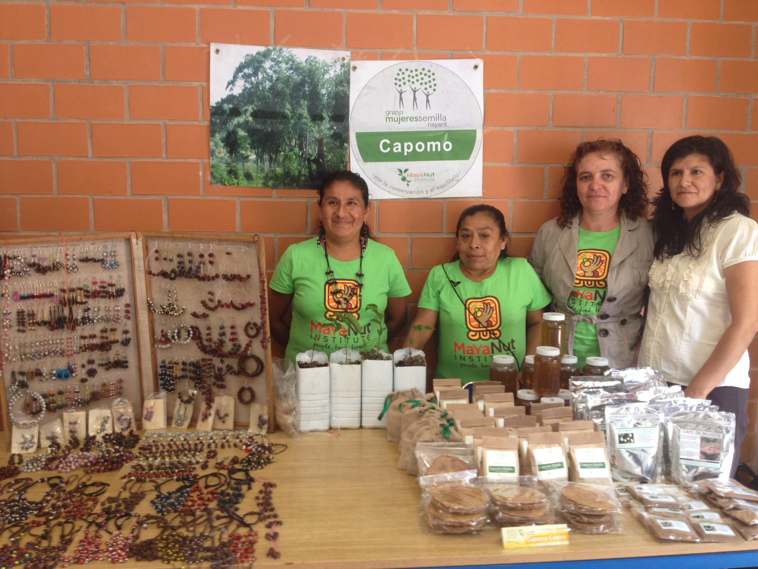 Educators of Capomo (Maya Nut) and reforestation.