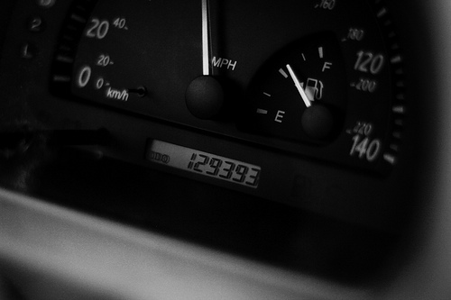 Odometer at Start of the Trip