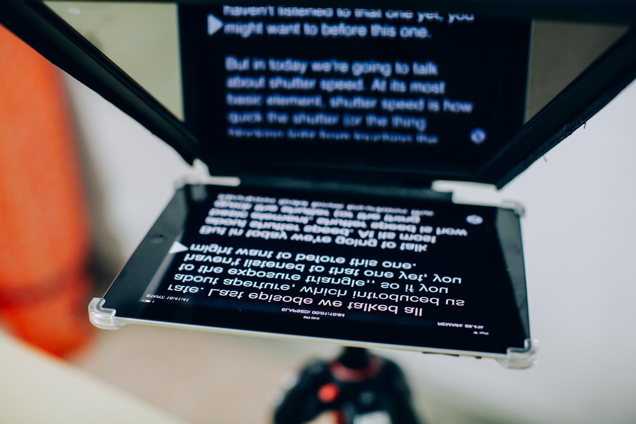 DIY Video Guy TV 2 - iKan Elite iPad Teleprompter-4.jpg