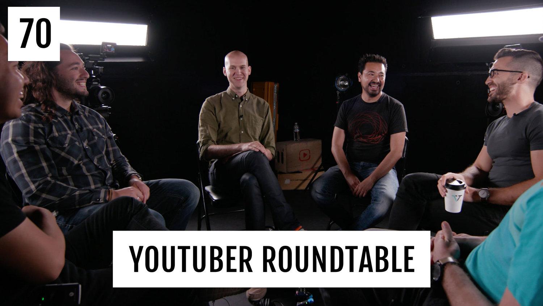 Round Table Podcast.Youtuber Roundtable 1 Ft Armando Ferreira Matt D Avella Caleb