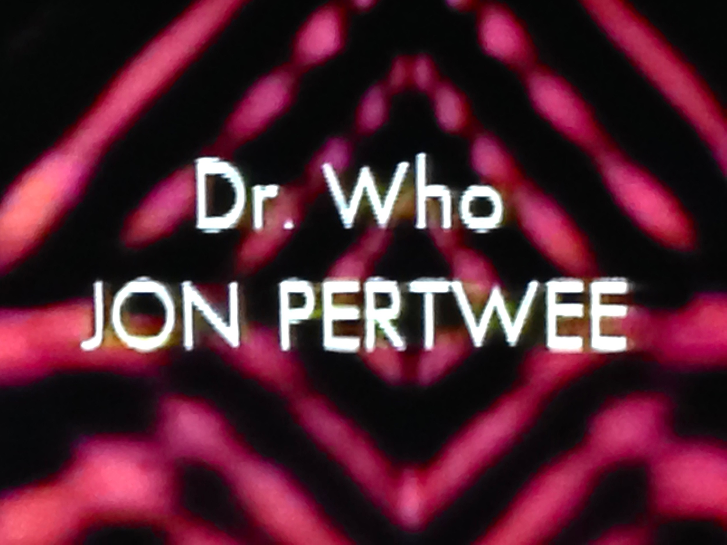 """Third Doctor, last """"Dr."""""""