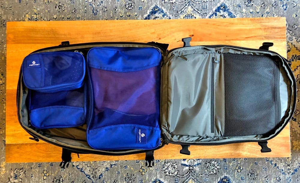 Travel Easy! - This way you can quickly grab what you need. And these make repacking all your stuff easy as well since you know where everything goes.As an added bonus, packing cubes can also help reduce wrinkles by preventing your clothing from shifting around in your bag.