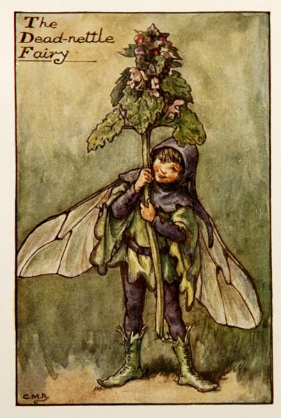 "Cicely Mary Barker, ""Dead Nettle Fairy"", 1920s"