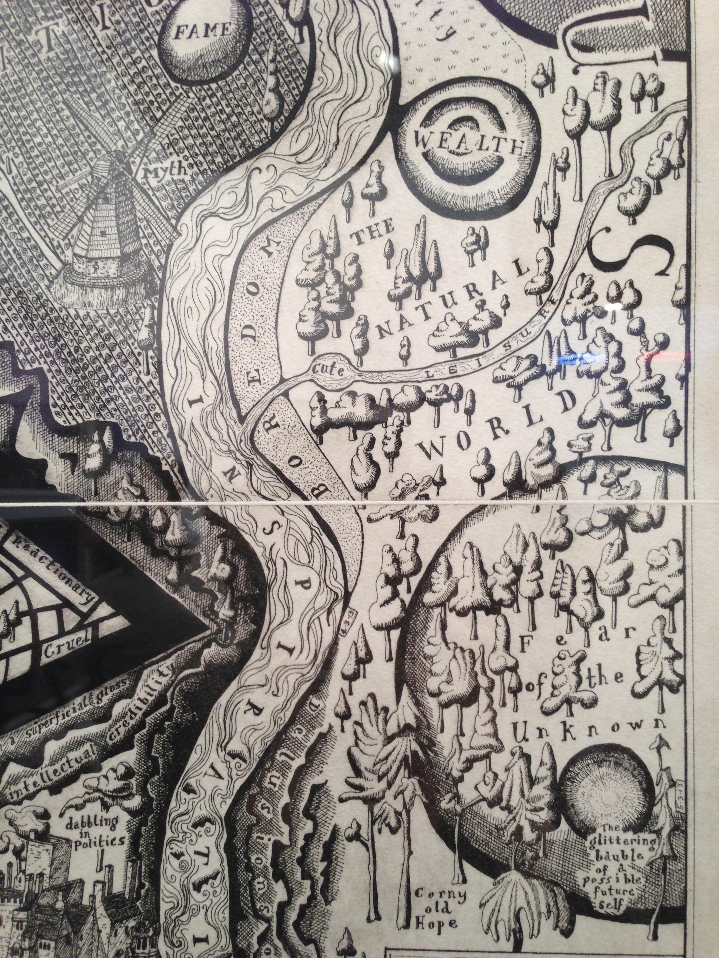 Detail, Grayson Perry at Paragon Prints, London