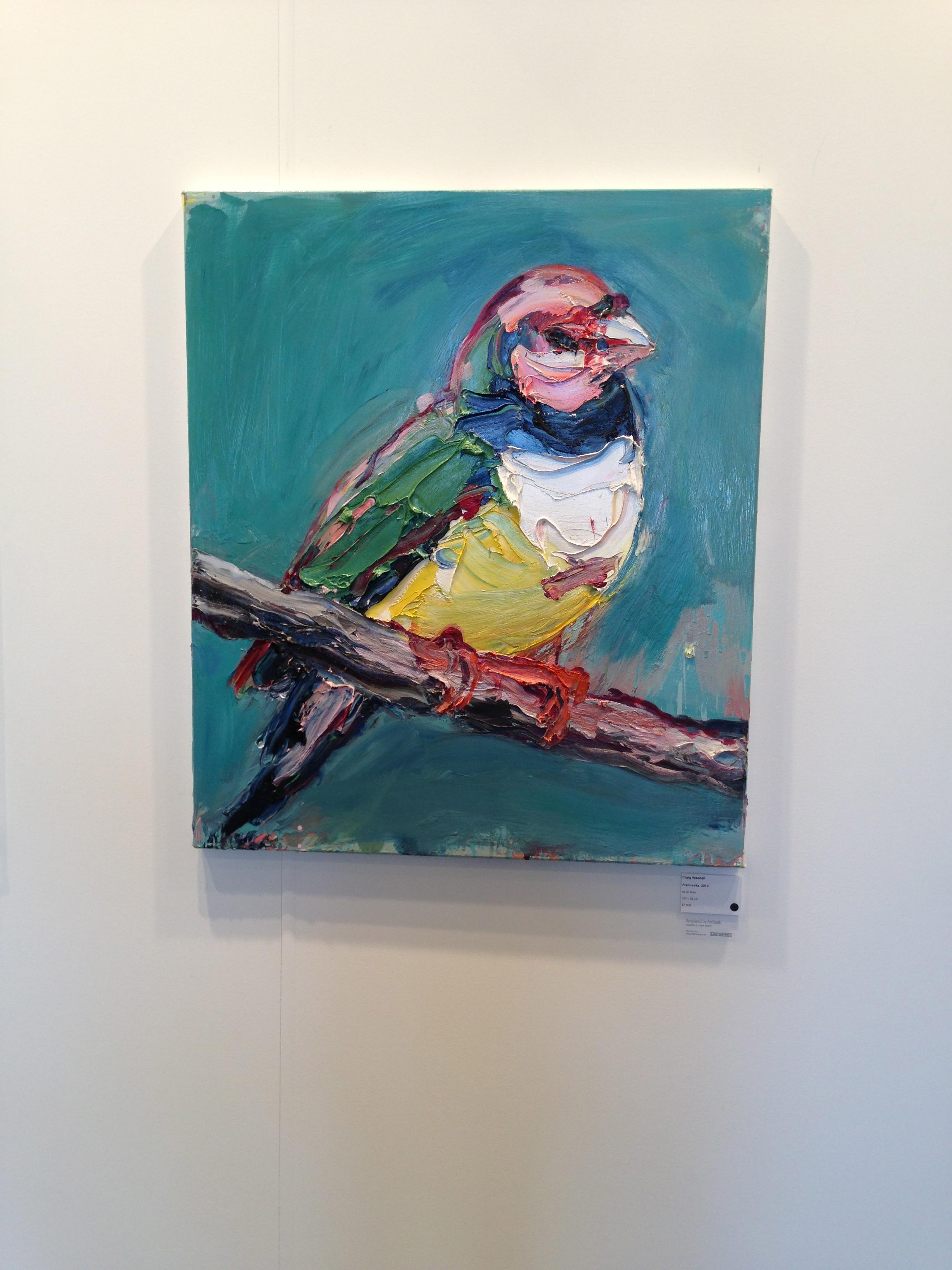 Franceska by Craig Waddell, Gallery 9, Sydney  Acquired by Artbank
