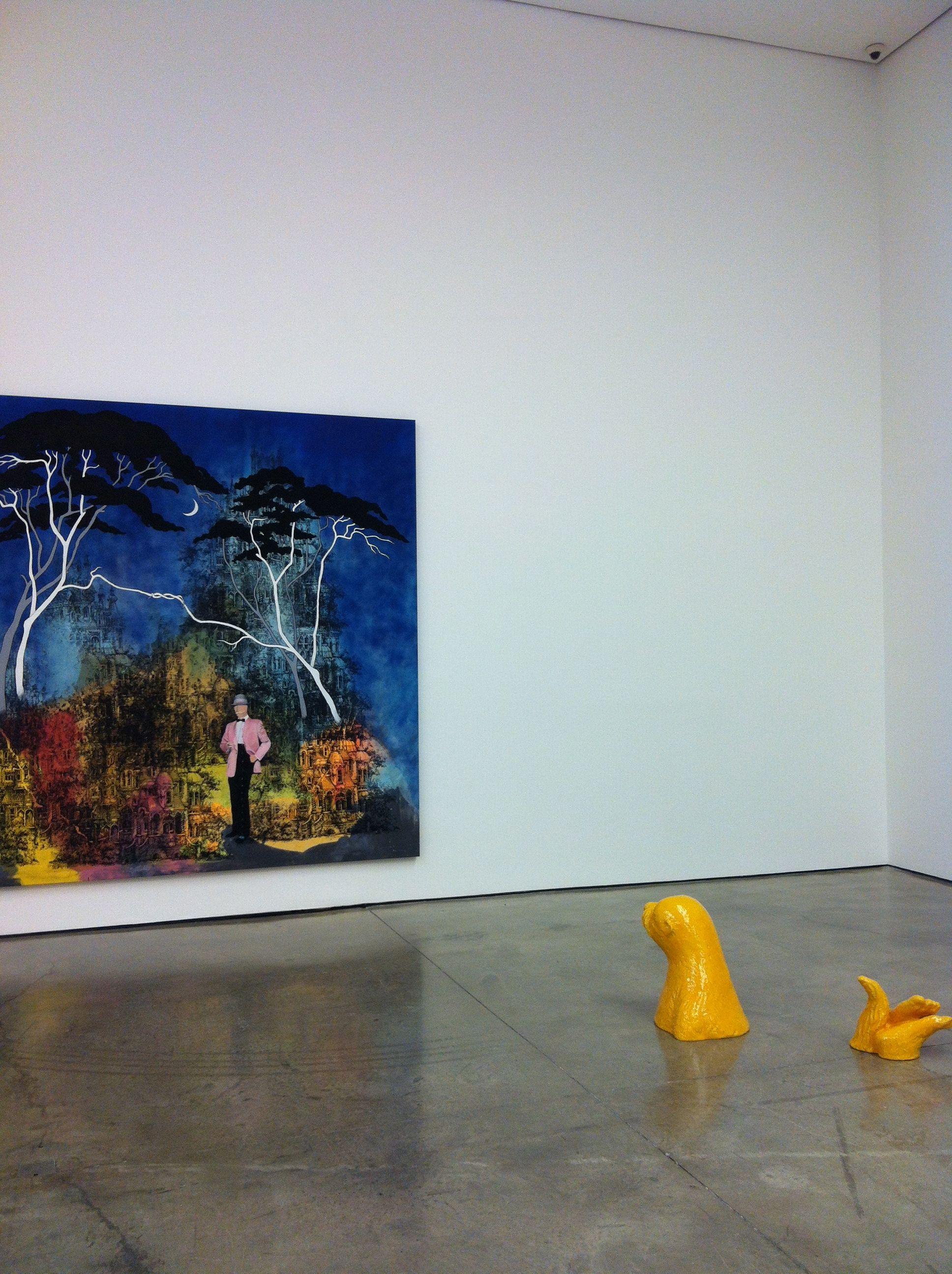Friedrich Kunath @ White Cube, Mason's Yard