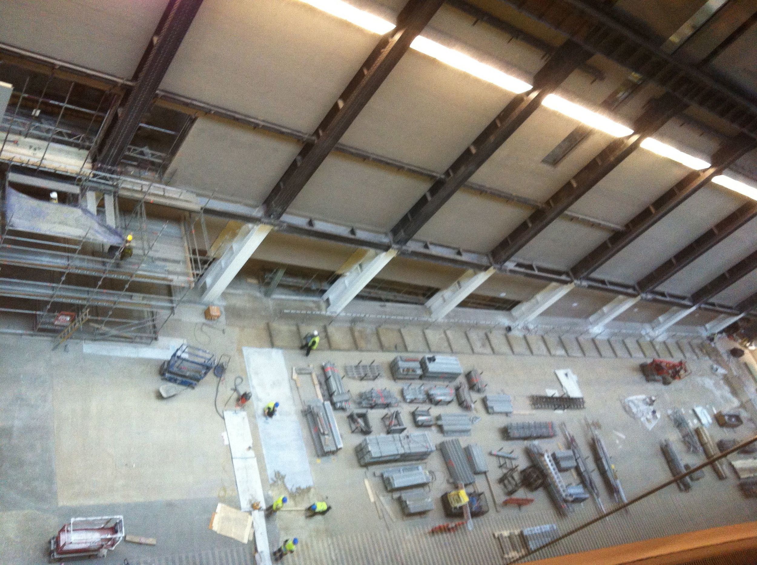 The Turbine Hall, underwraps @ Tate Modern 28.11.13
