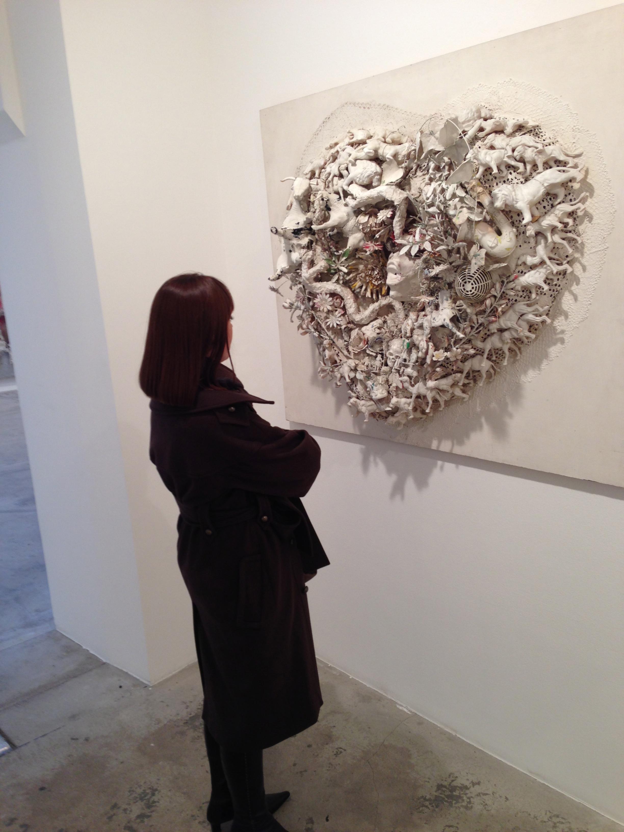 Niki de Saint Phalle @ Vallois, Paris 3.12.13