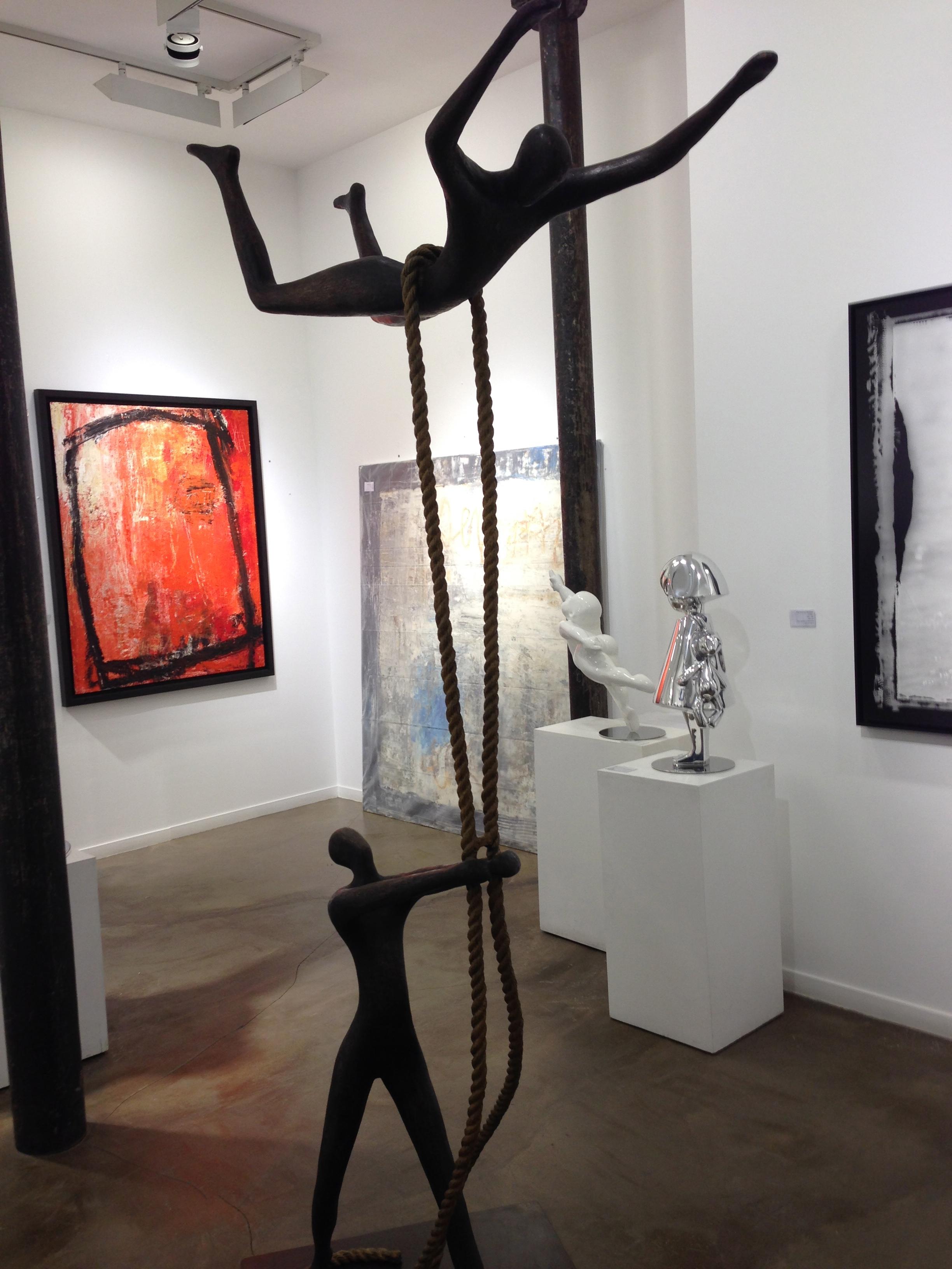Inbar Tolla's 'Sky High' @ Galerie Frederic Got, Paris 3.12.13