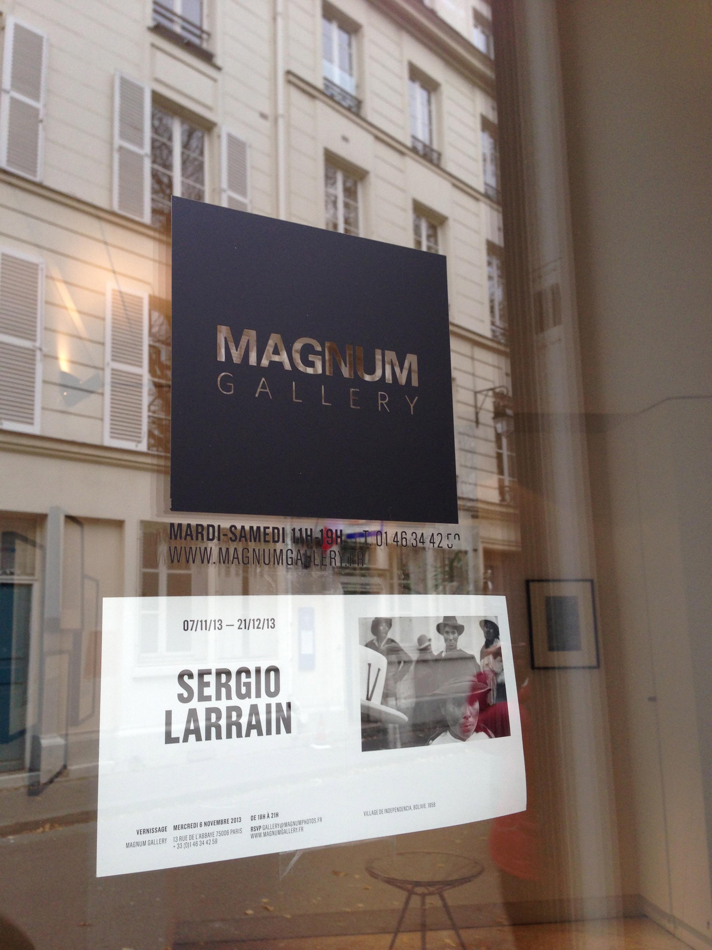 The home of Magnum, Paris 4.12.13