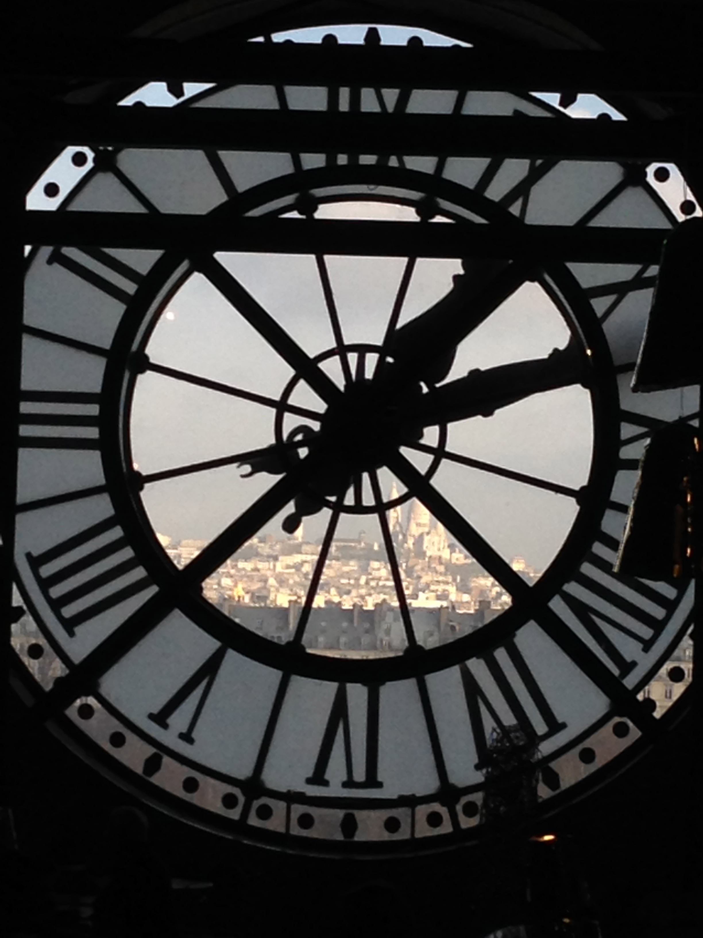 The view from Musee d'Orsay… Paris 5.12.13