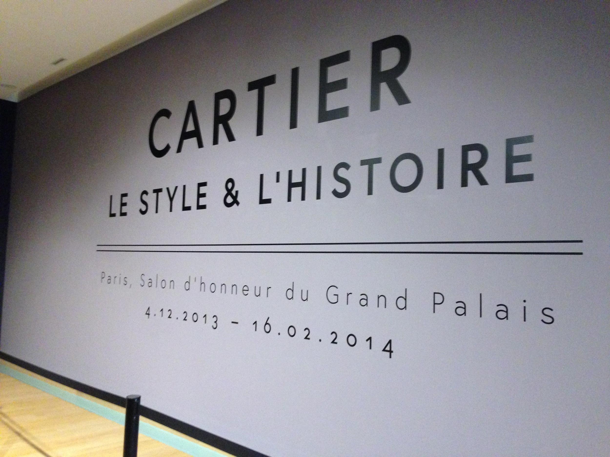 Cartier @ the Grand Palais, Paris 4.12.13