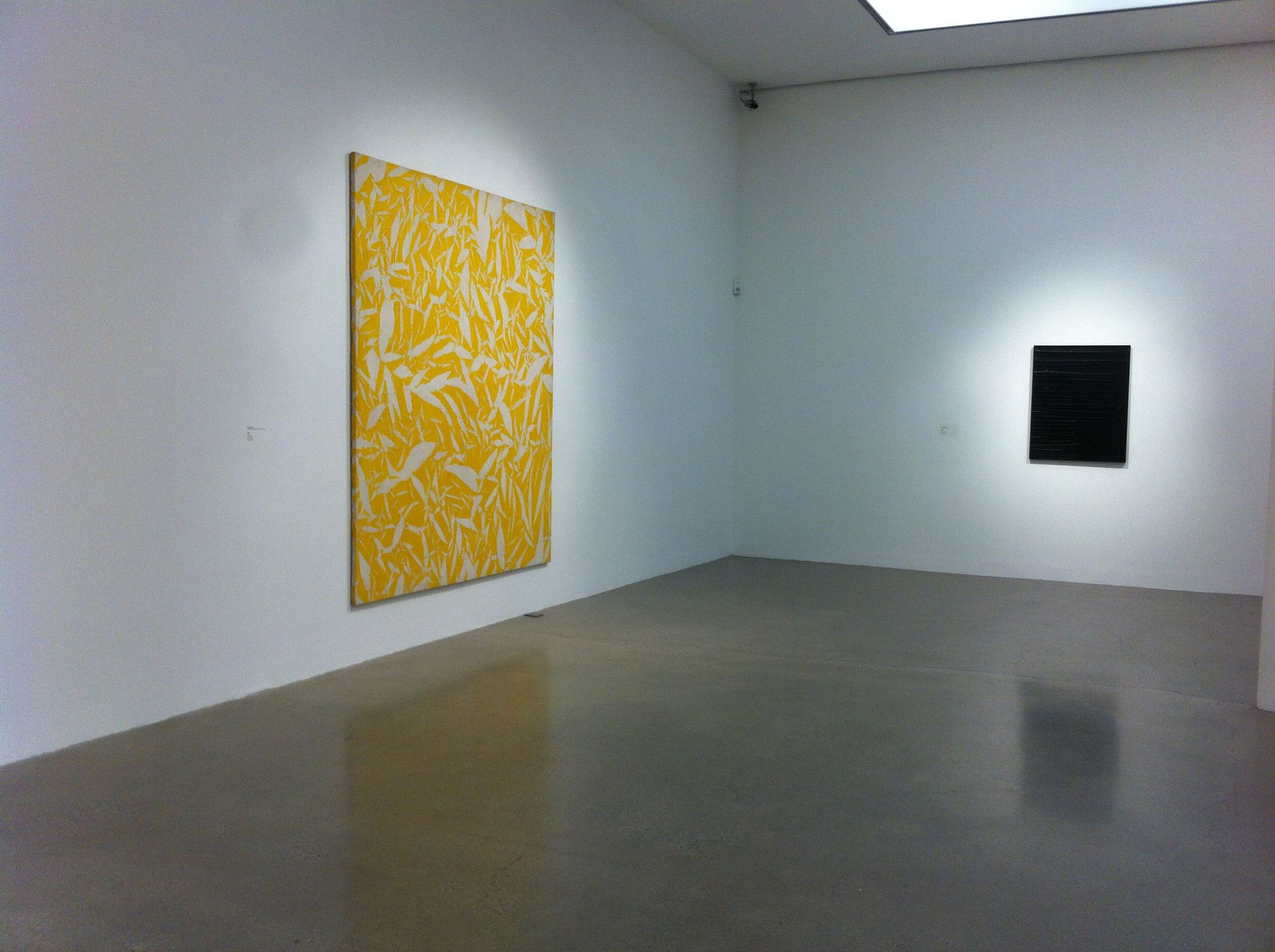 Simon Hantai @ Timothy Taylor Gallery